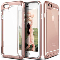 iPhone 6S Plus Case, Caseology [Skyfall Series] Transparent Clear Enhanced Grip [Rose Gold] [Slim Cushion] for Apple iPhone 6S Plus & iPhone 6 Plus