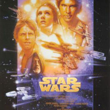 Star Wars 4 Movie Poster
