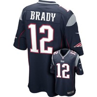 Nike New England Patriots Tom Brady Game NFL Replica Jersey