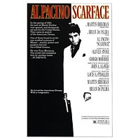 Scarface Movie 11inx17in poster