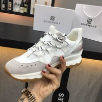 GIVENCHY Men Women Fashion Casual White Sneakers Sport Shoes