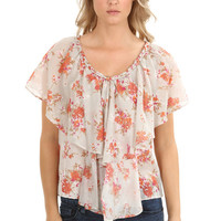 Corsage Cluster Blouse