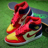 2018 Air Jordan 1 Retro High OG Basketball Shoes 555088-600 Sneaker - Best Online Sale