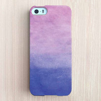 iPhone 6 Case, iPhone 6 Plus Case, iPhone 5S Case, iPhone 5 Case, iPhone 5C Case, iPhone 4S Case, iPhone 4 Case - Water Color Ombre Lavender