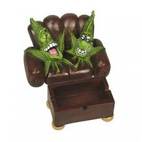 Cannabuds Armchair Stash Box Ashtray - Two-seater with Two Cannabuds - Extraction systems  - 420 Lifestyle  - Grasscity.com