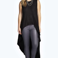 Lizzy Extreme Dip Back Top