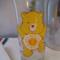 Vintage Funshine Care Bears 1983 ~ Pizza Hut Limited Edition Collectible ~ Yellow Care Bear