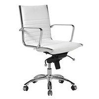 Malcolm Office Chair - White | Office | Furniture | Z Gallerie