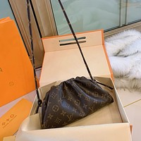 LV Mongram old flower cloud bag
