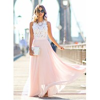 Dress Womens Boho Sleeveless Maxi Dress