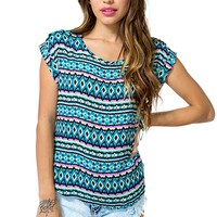Tribal Brights Tee