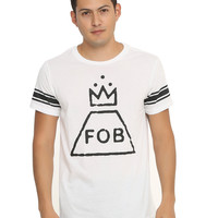 Fall Out Boy Crown Logo Athletic T-Shirt