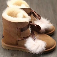 ugg women gita cute bow boots shoes-1