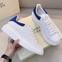 Alexander McQueen Hot Selling Classic Men's and Women's Platform Casual Shoes