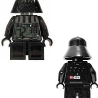 LEGO Kids' 9002113 Star Wars Darth Vader Mini-Figure Alarm Clock