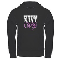 Navy Wife T-shirts. Proud Nav Hoodie by inktees