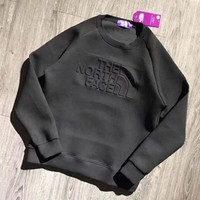 DCCKV3X The North Face Woman Men Fashion Long Sleeve Top Sweater Pullover