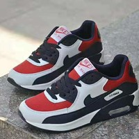 """Nike Air Max 90"" Casual Sport Lover Unisex  Multicolor Air Cushion Sneakers Running Shoes"