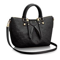 Tagre™ Authentic Louis Vuitton Mazarine PM Bag Handbag Article: M50639 Noir Made in France