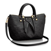 Tagre™ LV Women Shopping Leather Tote Handbag Shoulder Bag Authentic Louis Vuitton Mazarine P