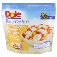 Dole Ready-Cut Fruit Strawberries, Peaches, Banana 12/14 oz