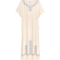 H&M Kaftan with Lace $39.99