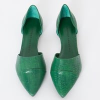 Python pointy flats - Shop the latest Fashion Trends