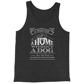 A House Is Not A Home Without A Dog Jersey Tank Top for Men