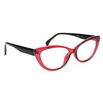 NWT Women Cat Eye Reading Glasses Scarlette Fashion Style