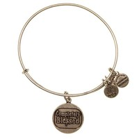 Alex and Ani Completely Blessed Charm Bangle - Russian Silver