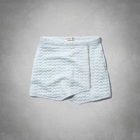 heart quilted wrap skirt