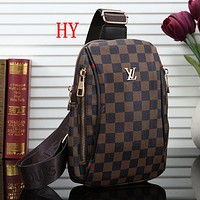 Louis Vuitton LV Woman Men Fashion Leather Chest Bag Crossbody Shoulder Bag