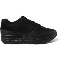 Nike - TZ Air Max 1 Patch Canvas And Leather Sneakers | MR PORTER