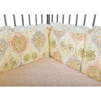 Waverly Rosewater Glam Crib Bumpers
