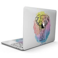 Sacred Watercolor Elephant - MacBook Pro with Touch Bar Skin Kit