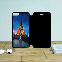 Beautiful Disney Castle 2 iPhone 6 Plus Flip Case Dewantary