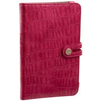 Abas Samsung Galaxy Tabbed Folio Easel Case,Hot Pink,one size