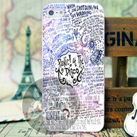 Panic At The Disco Quote - iPhone 4/4s/5 Case - Samsung Galaxy S3/S4 Case - Black or White