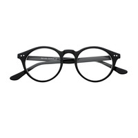 Retro Style Clear Lens Keyhole Round Glasses Frames R35