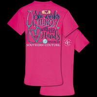 Southern Couture Classic Collection Works Willingly Nurse T-Shirt