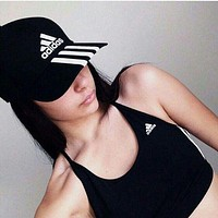 Perfect Adidas Women Men Sport Sunhat Embroidery Baseball Cap Hat-2
