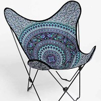 Magical Thinking Medallion Butterfly Chair Cover- Purple Multi One