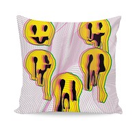 Wax Smile Couch Pillow