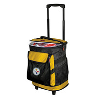 Pittsburgh Steelers NFL Rolling Cooler