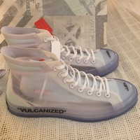Converse x Off-White Chuck Taylor All Star Hi, US 10.5
