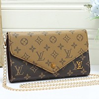 Louis Vuitton LV Women Fashion Chain Crossbody Satchel