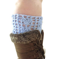faux boot socks, boot heart boot cuffs, you pick size and color!  USA ship included!