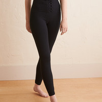 Aerie Chill Corset Legging, True Black