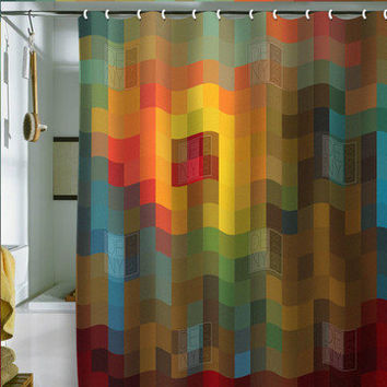 DENY Designs: Glorious Colors Shower Curtain, at 27% off!