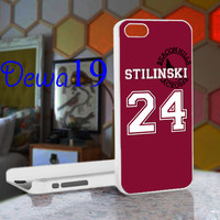 Teen Wolf STILINSKI lacrosse jersey For iPhone 4/4S, iPhone 5 / iPhone 5S / iPhone 5c and Samsung Galaxy S3/S4 Case/Cover